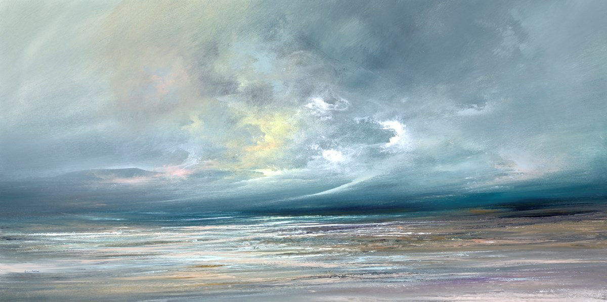 Skies Above V by philip raskin -  sized 48x24 inches. Available from Whitewall Galleries